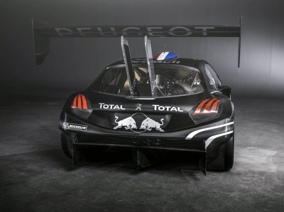 2013 Peugeot 208 T16 Pikes Peak race racing w wallpaper