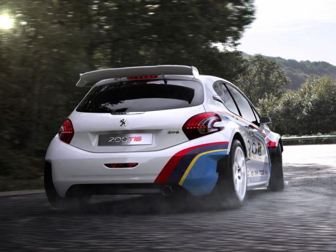 2013 Peugeot 208 T16 rally race racing q wallpaper