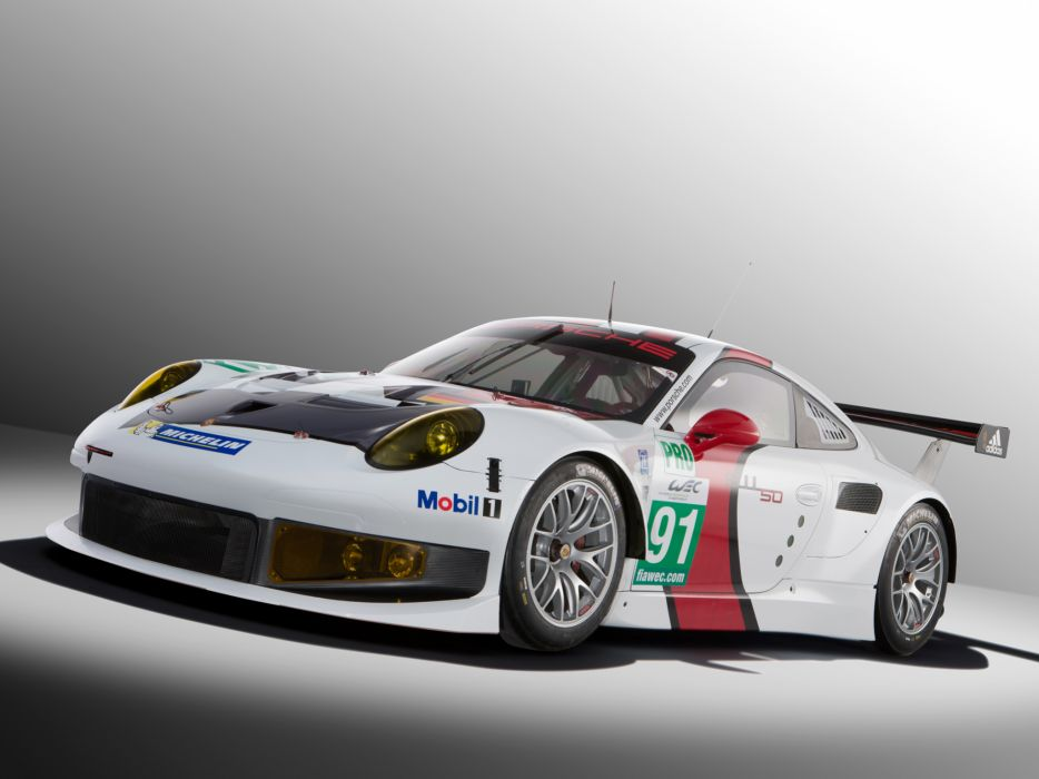 2013 Porsche 911 RSR 991 race racing v wallpaper