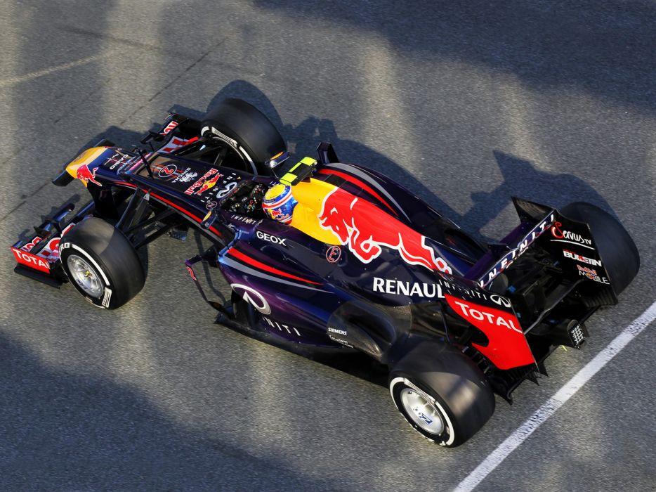 2013 Red Bull Renault Infiniti RB9 Formula One race racing w wallpaper