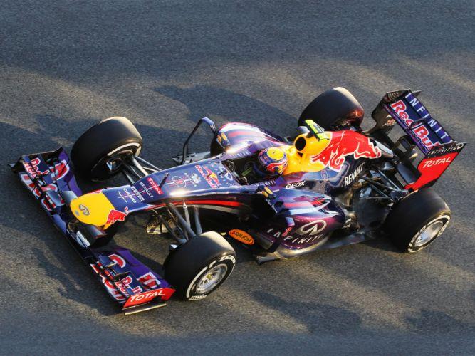 2013 Red Bull Renault Infiniti RB9 Formula One race racing wallpaper