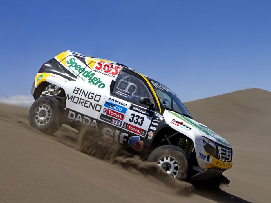 2013 Renault Duster Rally Dakar offroad race racing     g wallpaper