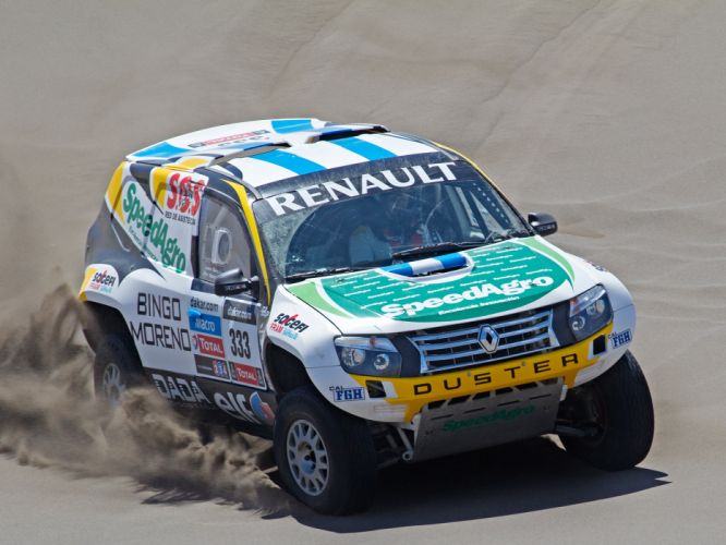 2013 Renault Duster Rally Dakar offroad race racing g wallpaper