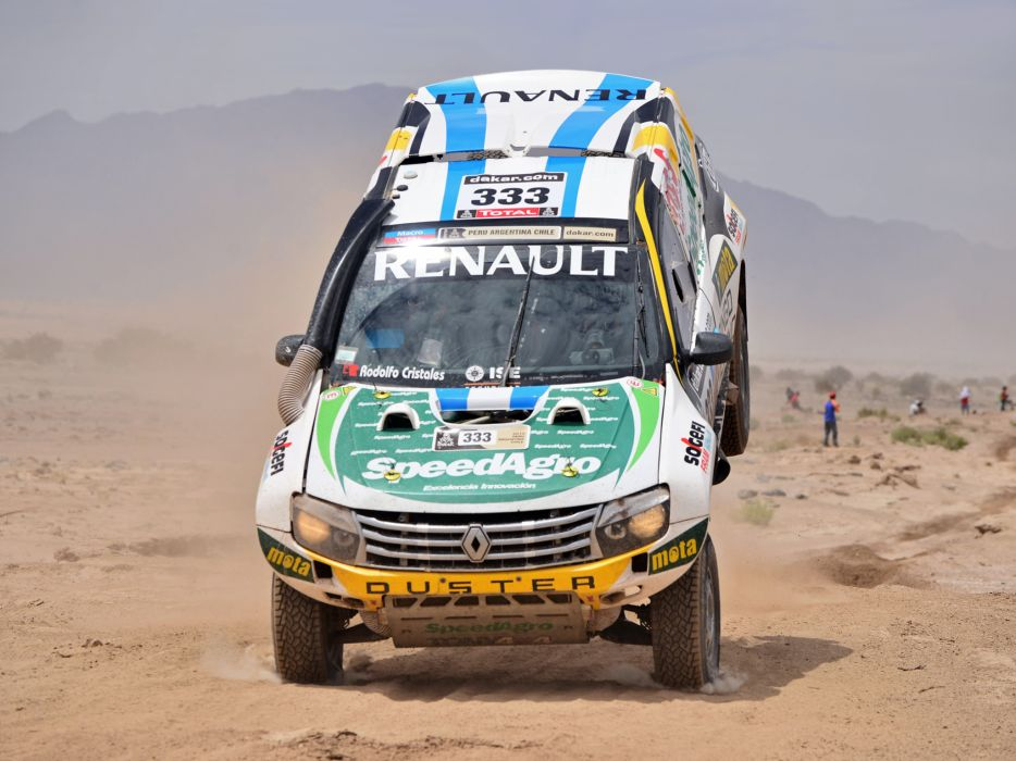 2013 Renault Duster Rally Dakar offroad race racing f wallpaper