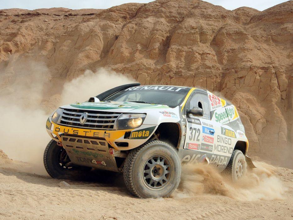 2013 Renault Duster Rally Dakar offroad race racing q wallpaper