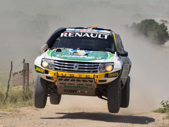 2013 Renault Duster Rally Dakar offroad race racing wallpaper