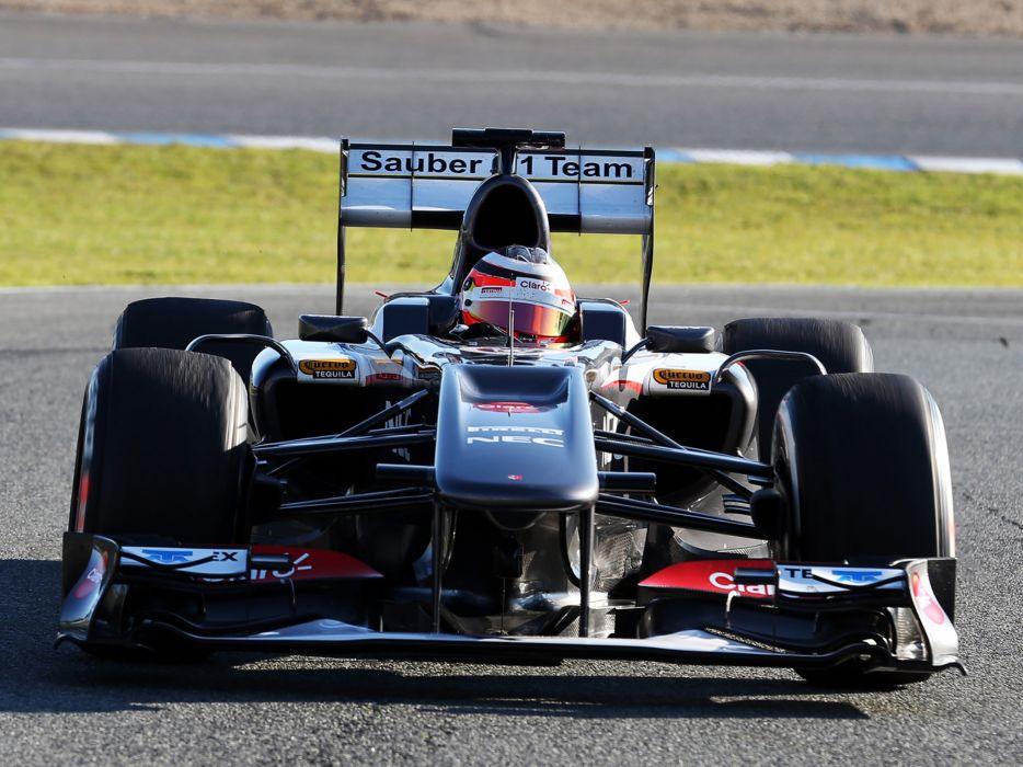 2013 Sauber C32 Formula One race racing     g wallpaper