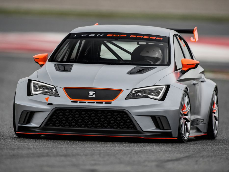 2013 Seat Leon Cup Racer tuning race racing    f wallpaper