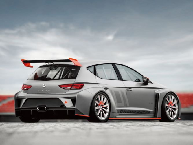 2013 Seat Leon Cup Racer tuning race racing e wallpaper
