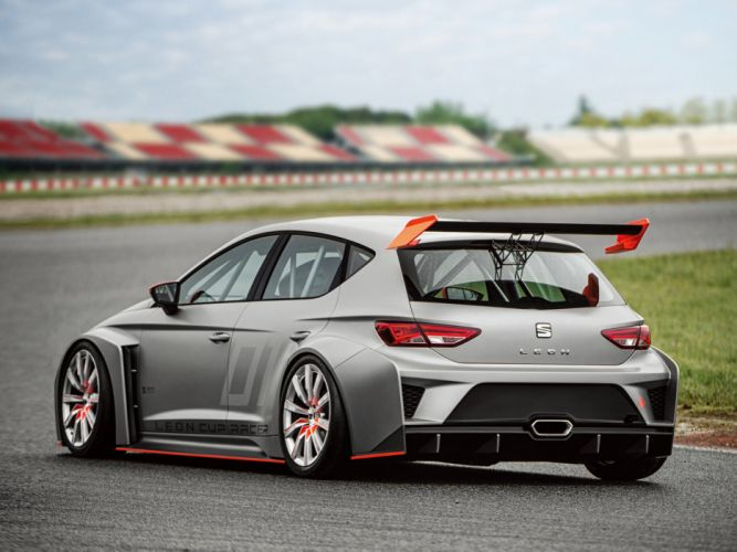 2013 Seat Leon Cup Racer tuning race racing r wallpaper