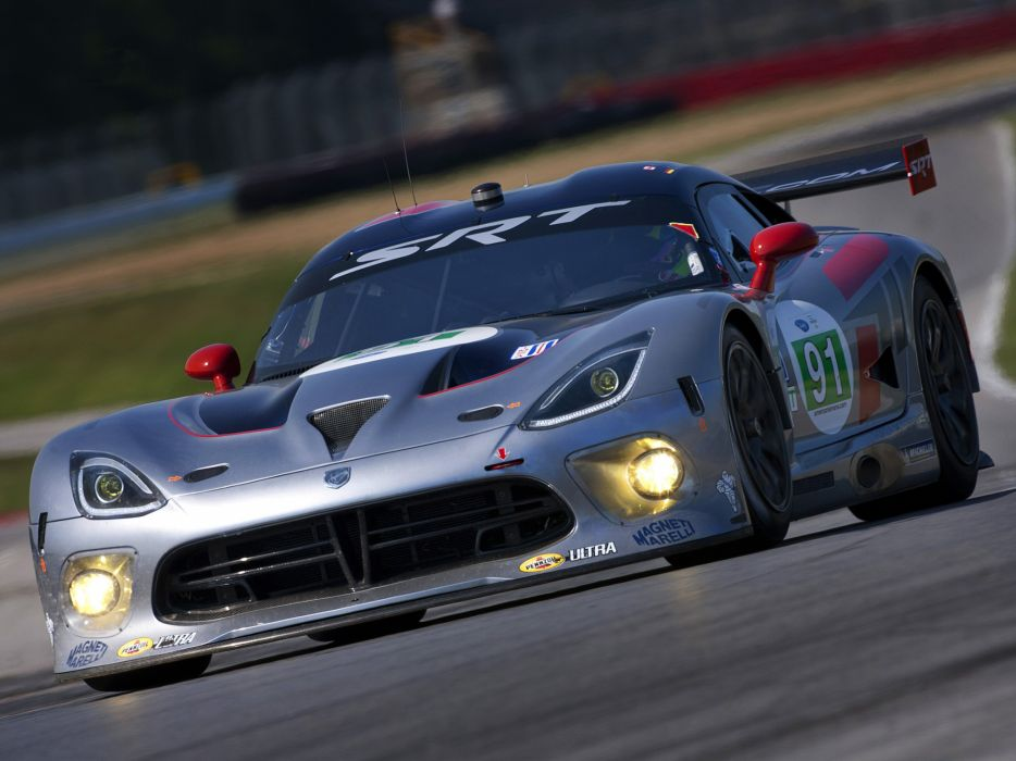 2013 SRT Dodge Viper GTS-R race racing w wallpaper