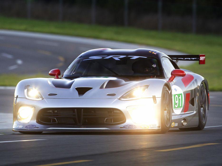 2013 SRT Dodge Viper GTS-R race racing wallpaper