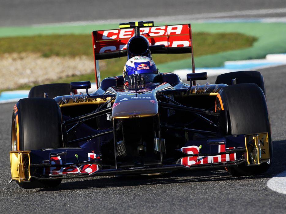 2013 Toro Rosso STR8 Formula One race racing wallpaper
