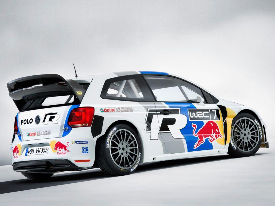 2013 Volkswagen Polo R WRC Typ-6R race racing polo-r wallpaper