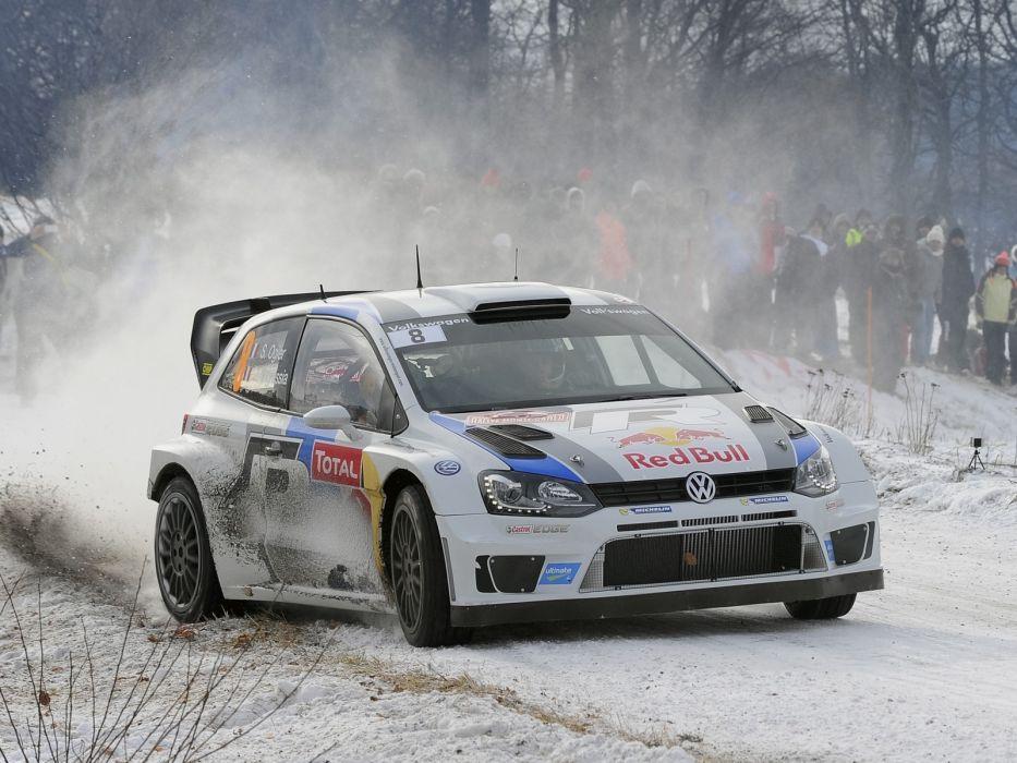2013 Volkswagen Polo R WRC Typ-6R race racing q wallpaper