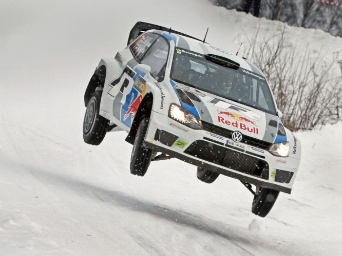 2013 Volkswagen Polo R WRC Typ-6R race racing wallpaper