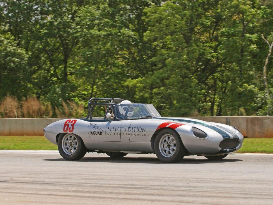 Jaguar Select Edition E-Type Roadster race racing   g wallpaper