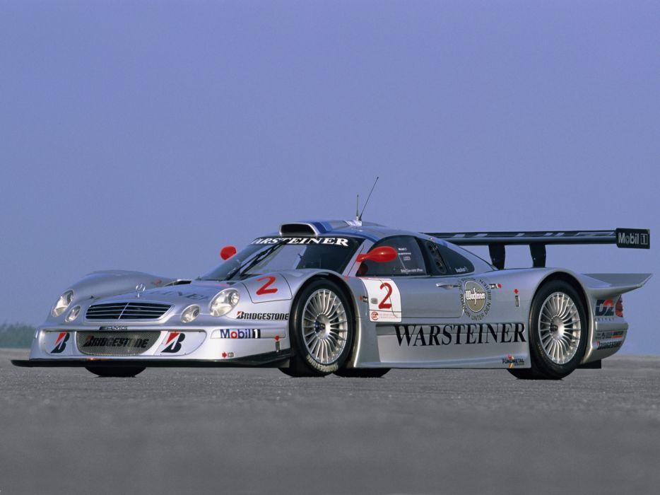 Mercedes Benz CLK GTR AMG supercar supercars race racing q wallpaper