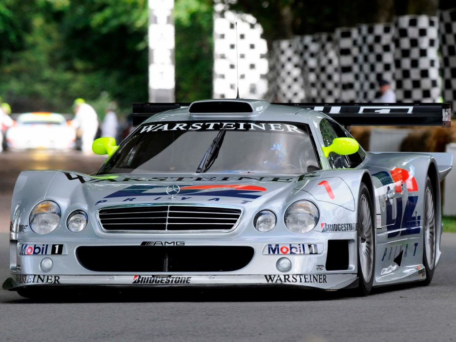 Mercedes Benz CLK GTR AMG supercar supercars race racing wallpaper