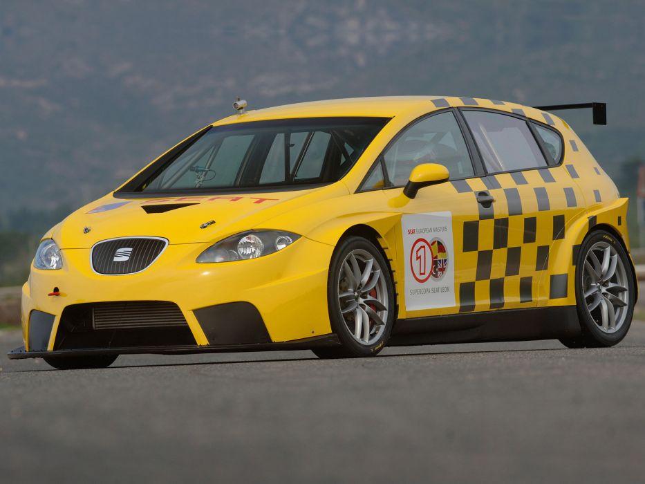 Seat Leon Supercup race racing  g wallpaper