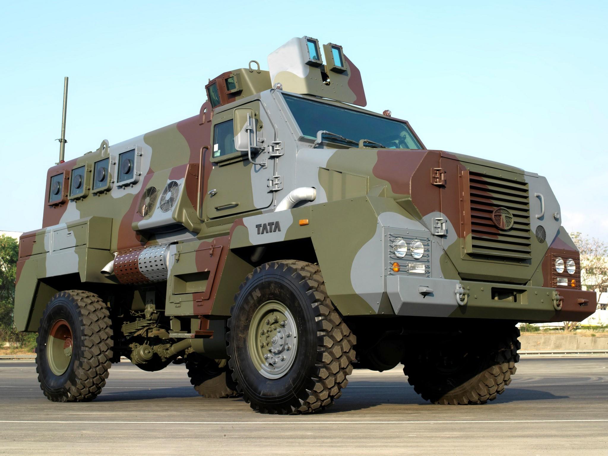 Tata Mpv 4x4 Truck Trucks Military Wallpaper 2048x1536