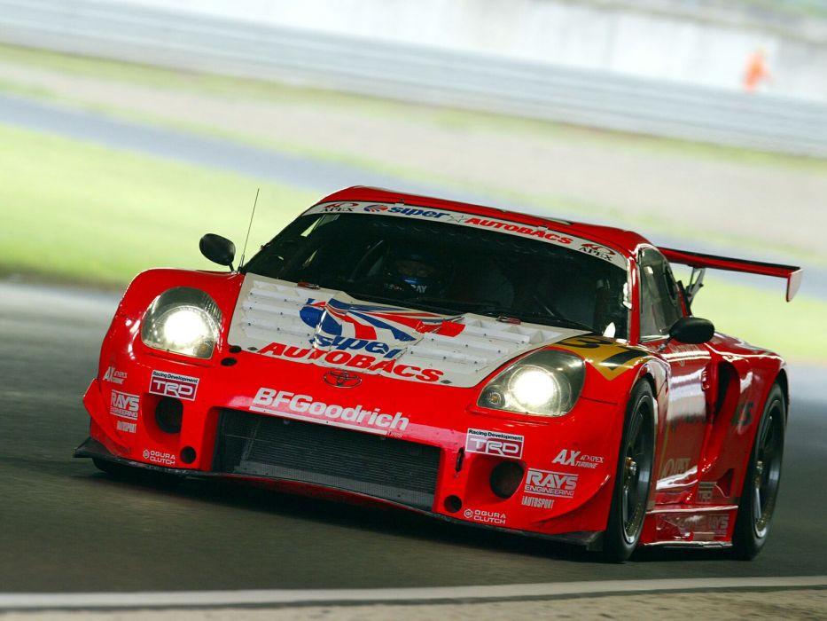 Toyota MR2 GTS race racing a wallpaper