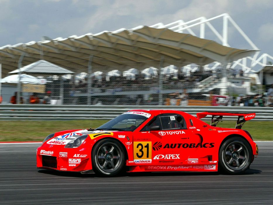 Toyota MR2 GTS race racing wallpaper