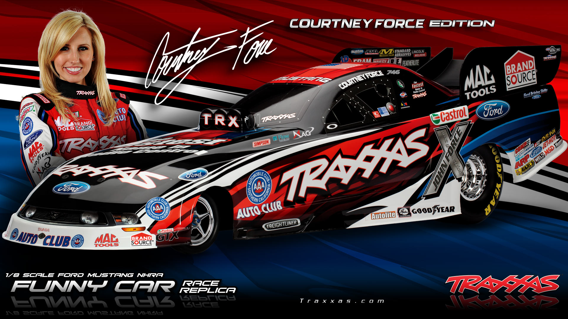 traxxas.con with Nhra Funny Cars Race Racing Drag Z on Latrax Rally Powered By Traxxas also Watch likewise Rustlervxl together with En Ersatzteile parts together with Popup image.