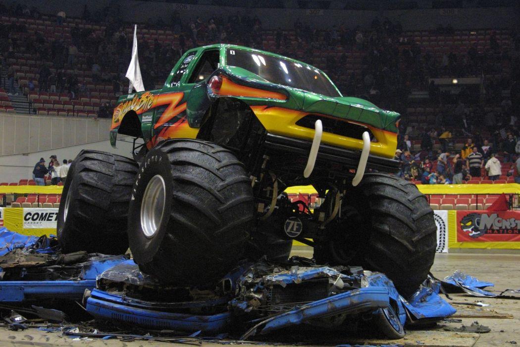 monster-truck monster truck trucks 4x4 wheel wheels         f wallpaper