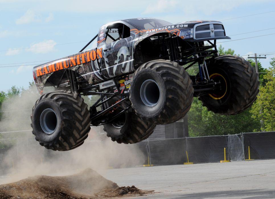 monster-truck monster truck trucks 4x4 wheel wheels         d wallpaper