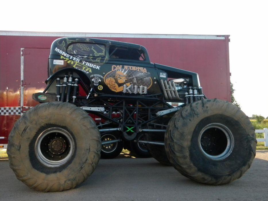 monster-truck monster truck trucks 4x4 wheel wheels       ge wallpaper