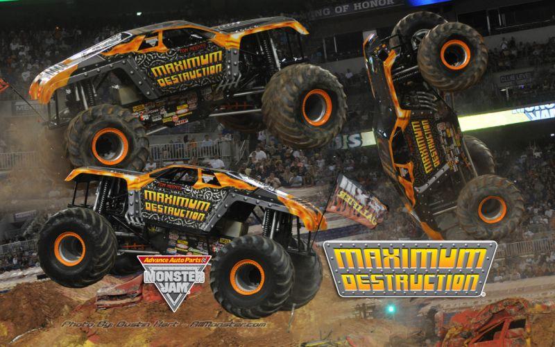 monster-truck monster truck trucks 4x4 wheel wheels ff wallpaper
