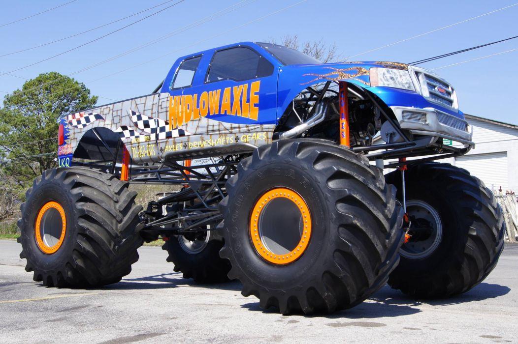monster-truck monster truck trucks 4x4 wheel wheels      gd wallpaper