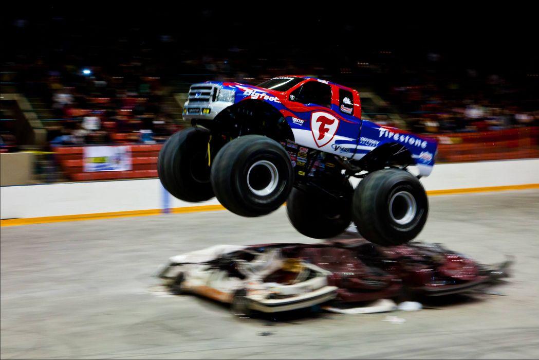 monster-truck monster truck trucks 4x4 wheel wheels     e wallpaper