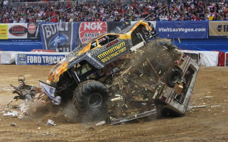 monster-truck monster truck trucks 4x4 wheel wheels hr wallpaper