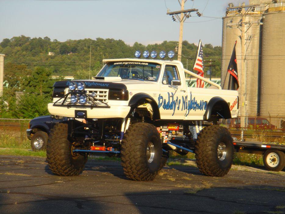 monster-truck monster truck trucks 4x4 wheel wheels    fe wallpaper