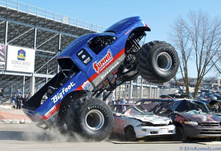 monster-truck monster truck trucks 4x4 wheel wheels q wallpaper