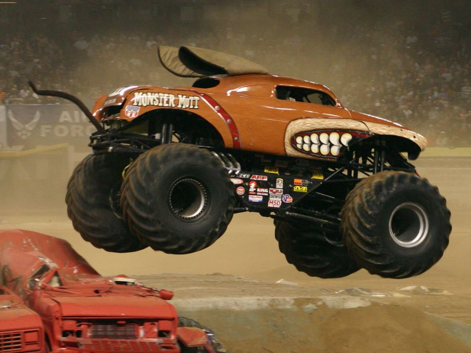 monster-truck monster truck trucks 4x4 wheel wheels    n wallpaper