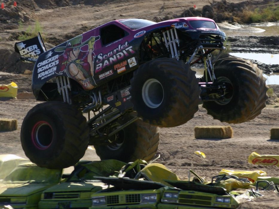 monster-truck monster truck trucks 4x4 wheel wheels  u wallpaper