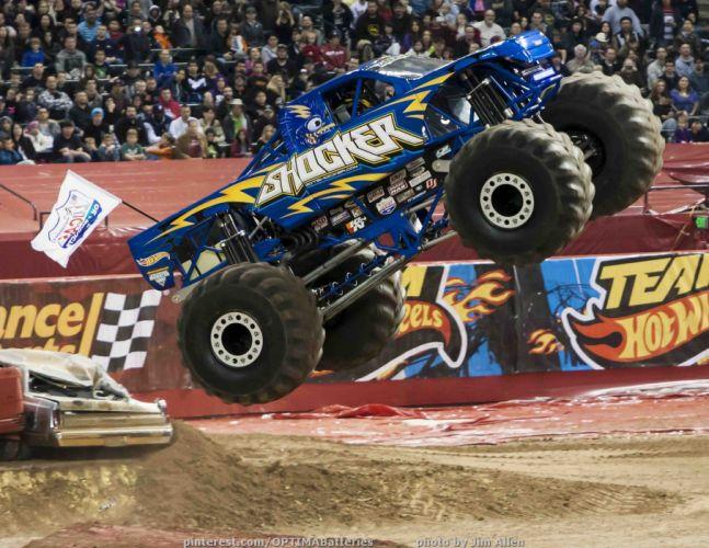 monster-truck monster truck trucks 4x4 wheel wheels l wallpaper