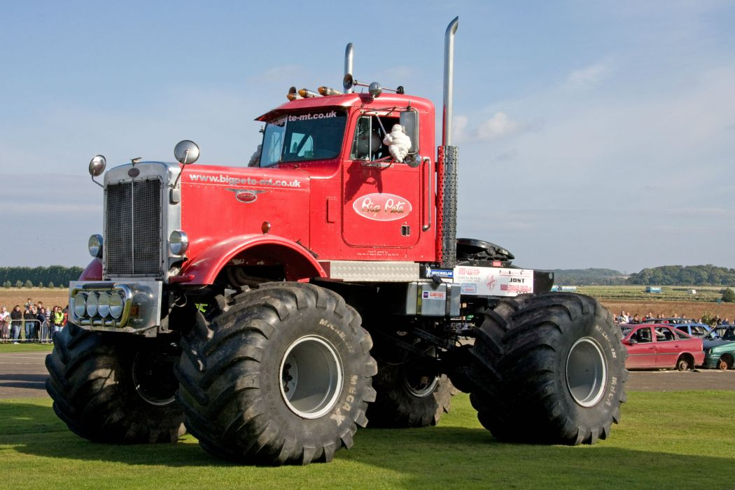 monster-truck monster truck trucks 4x4 wheel wheels semi tractor wallpaper