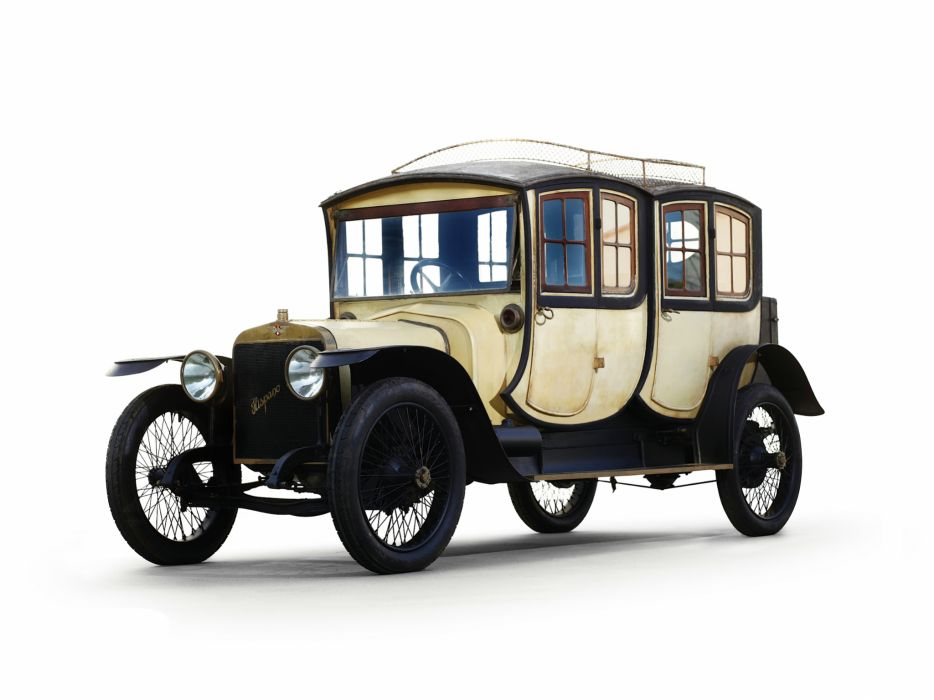 1911 Hispano-Suiza Alfonso XIII Double Berlin retro wallpaper