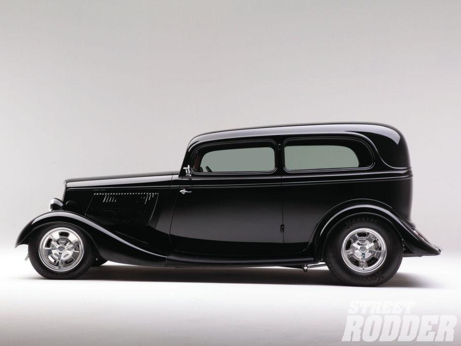 1933 Ford Sedan retro hot rod rods custom      g wallpaper