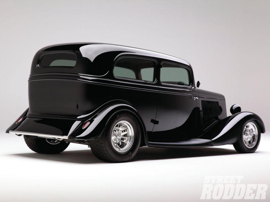 1933 Ford Sedan retro hot rod rods custom    f wallpaper