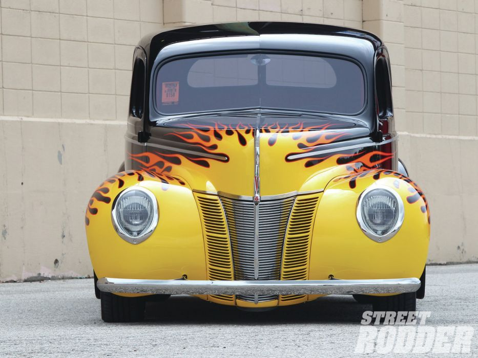 1940 Ford Coupe retro hot rod rods   g wallpaper