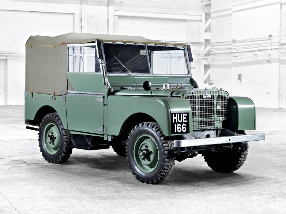 1948 Land Rover Series-I 8-0 retro offroad 4x4     g wallpaper