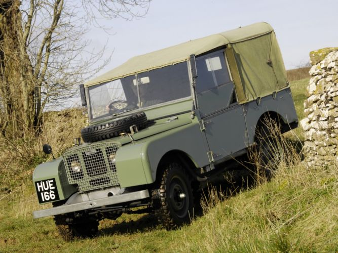 1948 Land Rover Series-I 8-0 retro offroad 4x4 f wallpaper