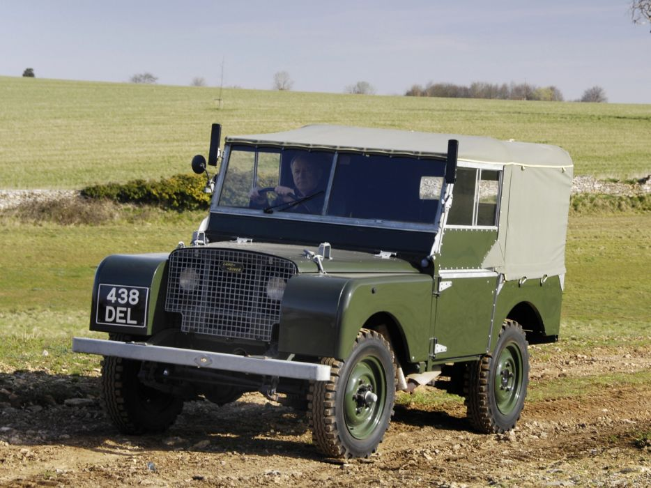 1948 Land Rover Series-I 8-0 retro offroad 4x4   f wallpaper