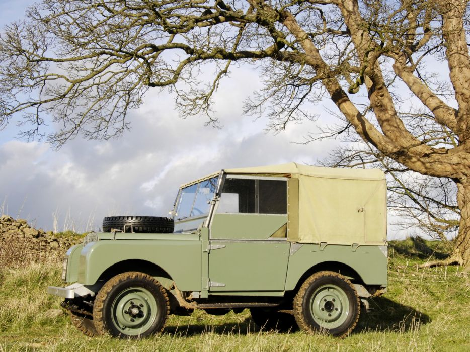 1948 Land Rover Series-I 8-0 retro offroad 4x4  b wallpaper