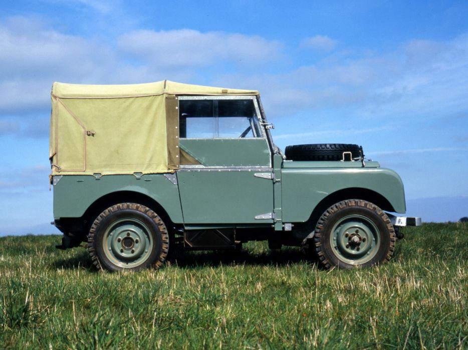 1948 Land Rover Series-I 8-0 retro offroad 4x4 wallpaper